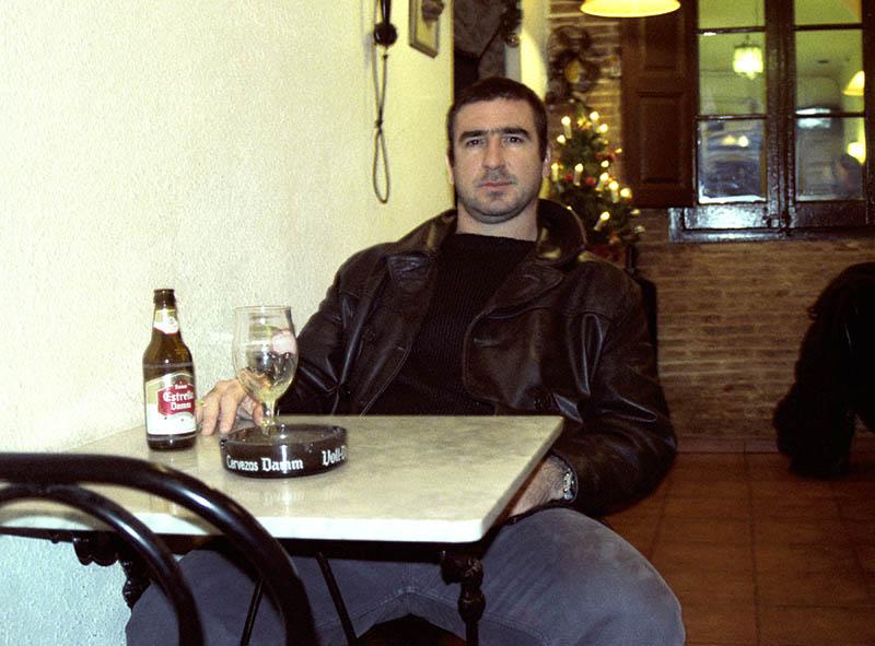 Éric Cantona. Barcelona.